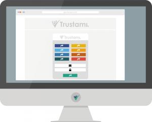 Login/Registrierung bei Trustami
