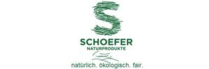 Firmenlogo des Referenzkunden Schoefer Naturprodukte