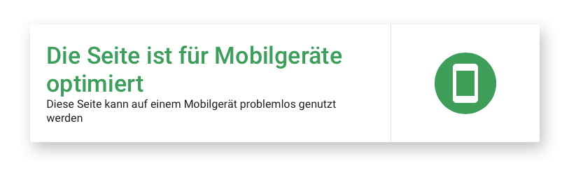 Seite ist für Mobilgeräte optimiert