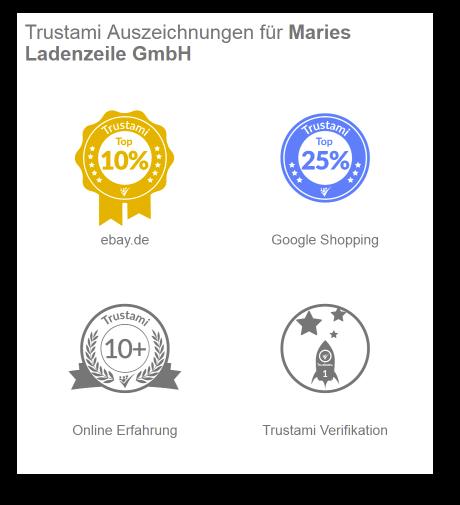 Auszeichnungen auf dem neuen Trustami Profil