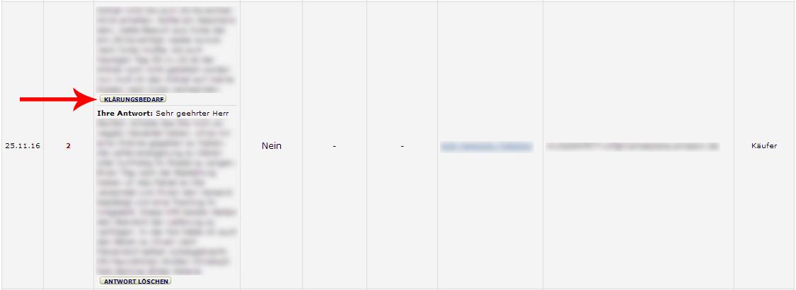 Amazon Feedback entfernen Beispielbild Anleitung 3