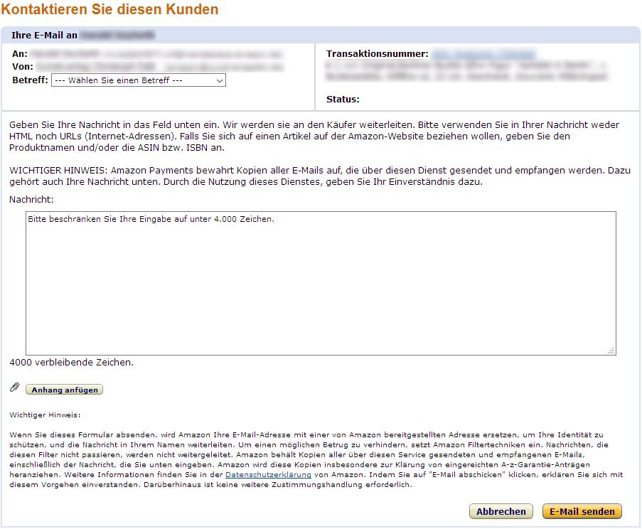 Amazon Bewertung entfernen lassen Beispielbild Anleitung 5
