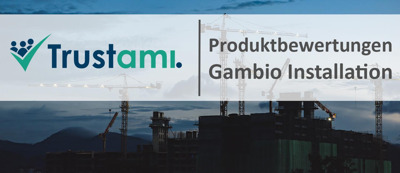 Produktbewertungen für Gambio Shops