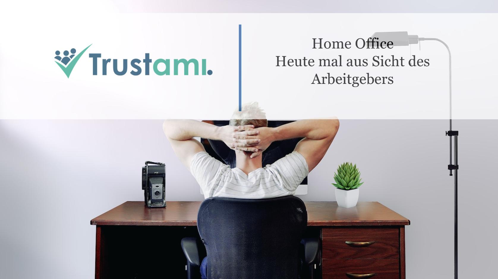 Home Office Bedingungen für den Arbeitgeber