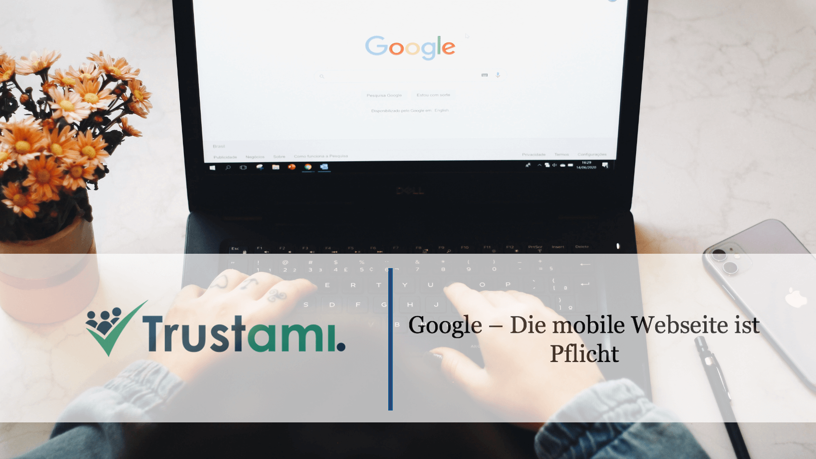 Google Mobile Webseite